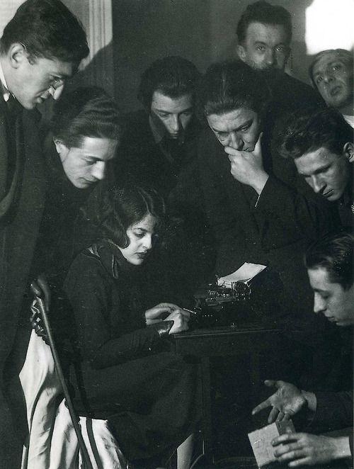 Simone Breton et les surréalistes