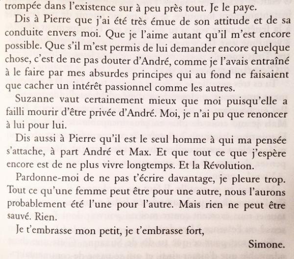 extrait simone breton lettres a denise levy