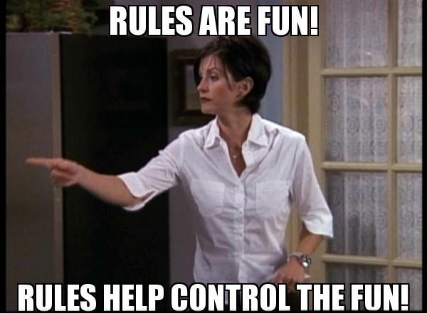 Monica Geller rules