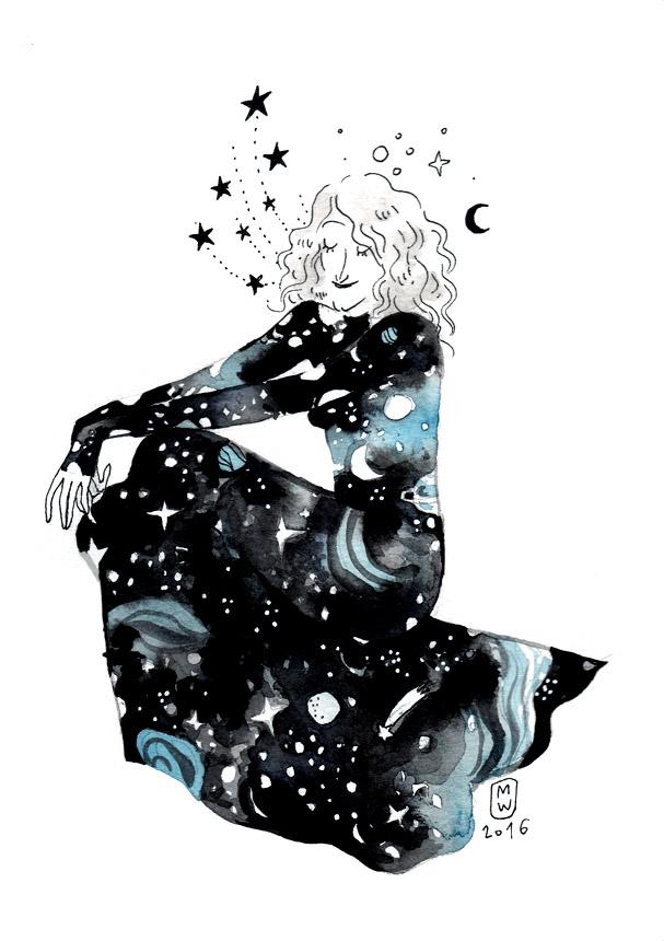 robe-cosmique-bleue-et-noire