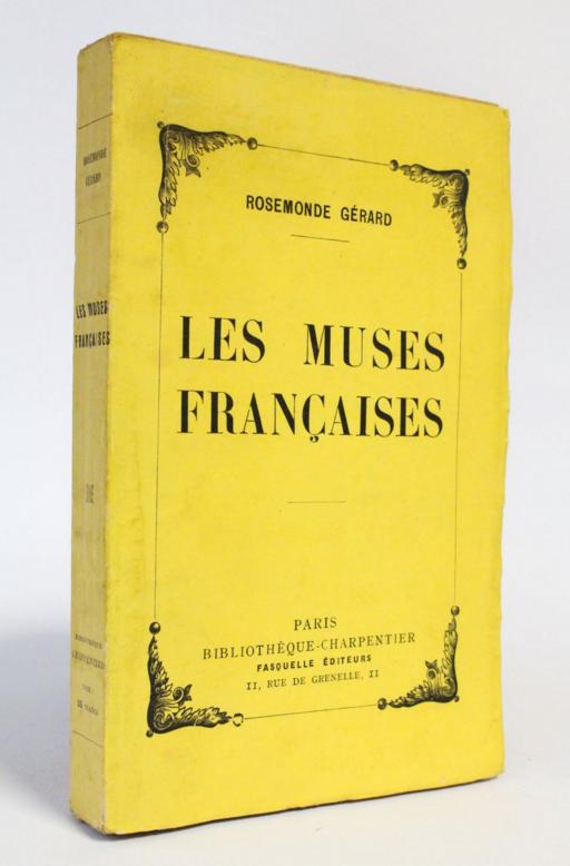 les muses franciases rosemonde gerard-diglee